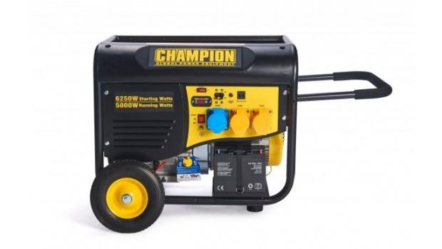 Oxtrad Tools Ltd Champion Petrol Generator Remote Start 5500w CPG6500 1