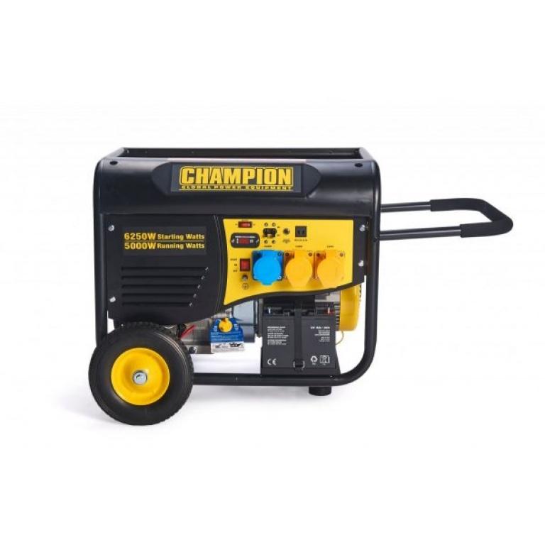 Champion Petrol Generator Remote Start 5500w CPG6500