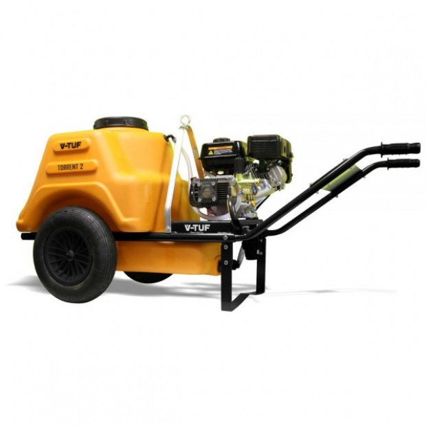 Oxtrad Tools Ltd V-Tuf Torrent 2 Petrol Pressure Washer c/w 150ltr Bowser 2800psi 190bar