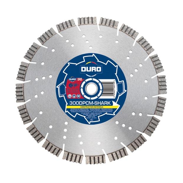 Duro Plus 230DPCM-SHARK Construction Materials Blade 230mm x 22.2mm