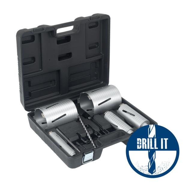 Duro Plus Dry Diamond Core Drill DPDC-Kit 5 Piece