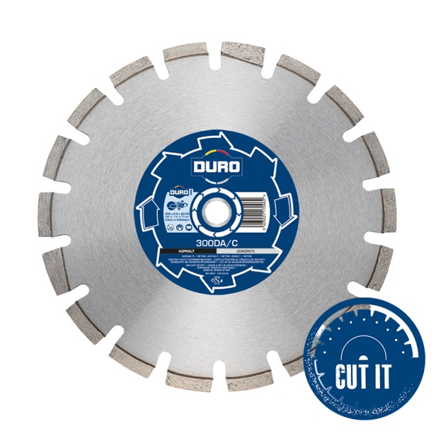 Duro Standard 300DA/C Diamond Concrete & Asphalt Blade 300mm x 20mm