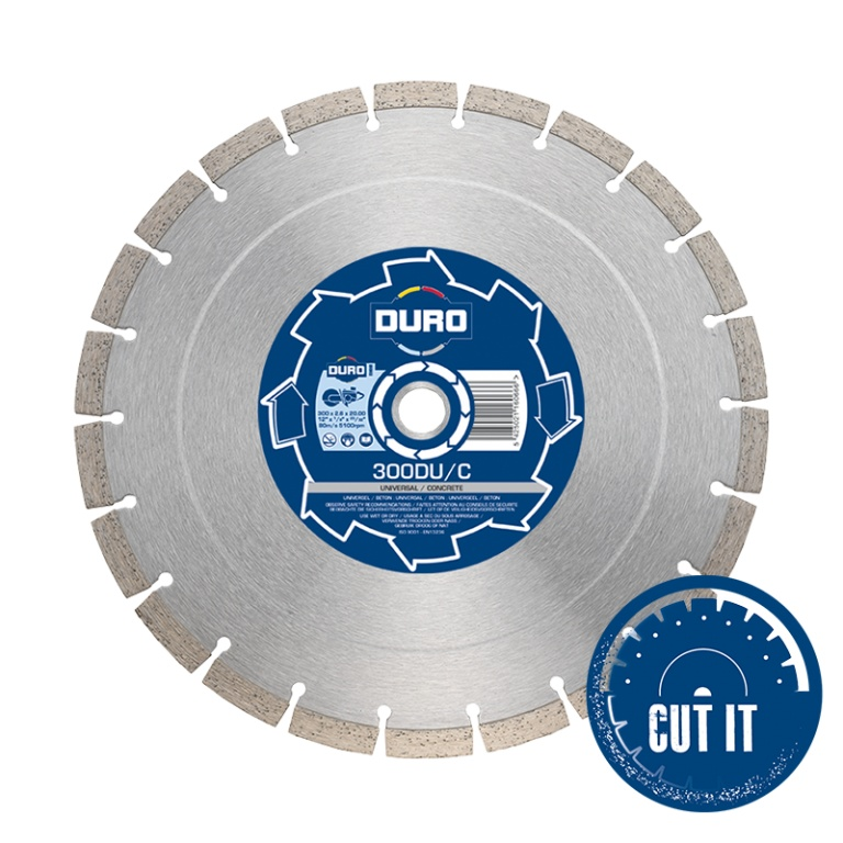 Oxtrad Tools Ltd Duro 115DUC Diamond Standard Universal Concrete Blade 115mm