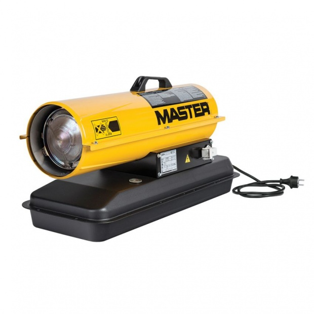 Oxtrad Tools Ltd Master 20kw Direct Diesel Oil Space Heater 240v B70