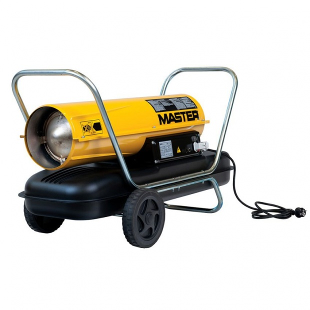 Oxtrad Tools Ltd Master 44kw Direct Diesel Oil Dual Voltage Space Heater B150DV