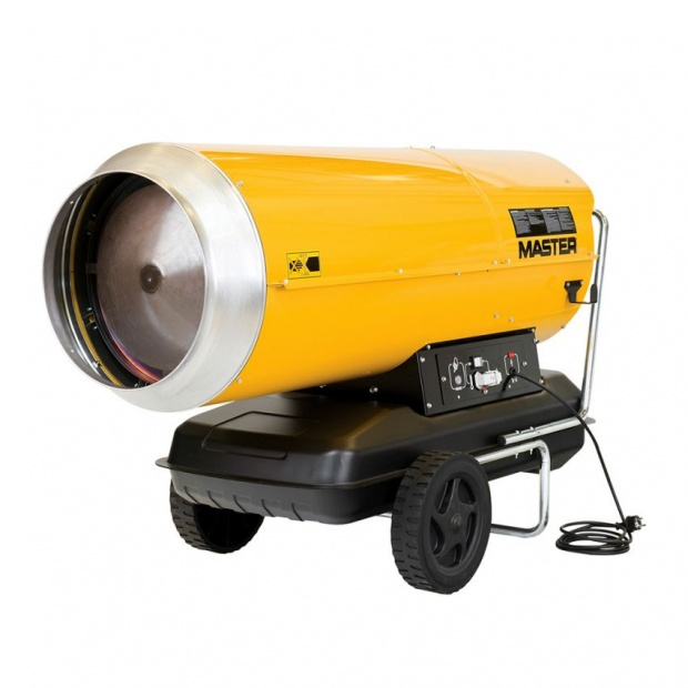 Oxtrad Tools Ltd Master 65kw Direct Diesel Oil Dual Voltage Space Heater 240v B230