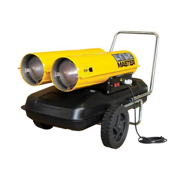 Oxtrad Tools Ltd Master 88kw Direct Diesel Oil Dual Voltage Space Heater 240v B300CED