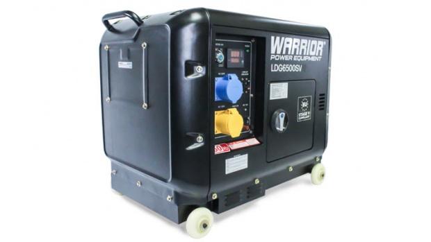 Oxtrad Tools Ltd Warrior 6.25kVa Single Phase Generator LDG6500SVerator LDG6500SV
