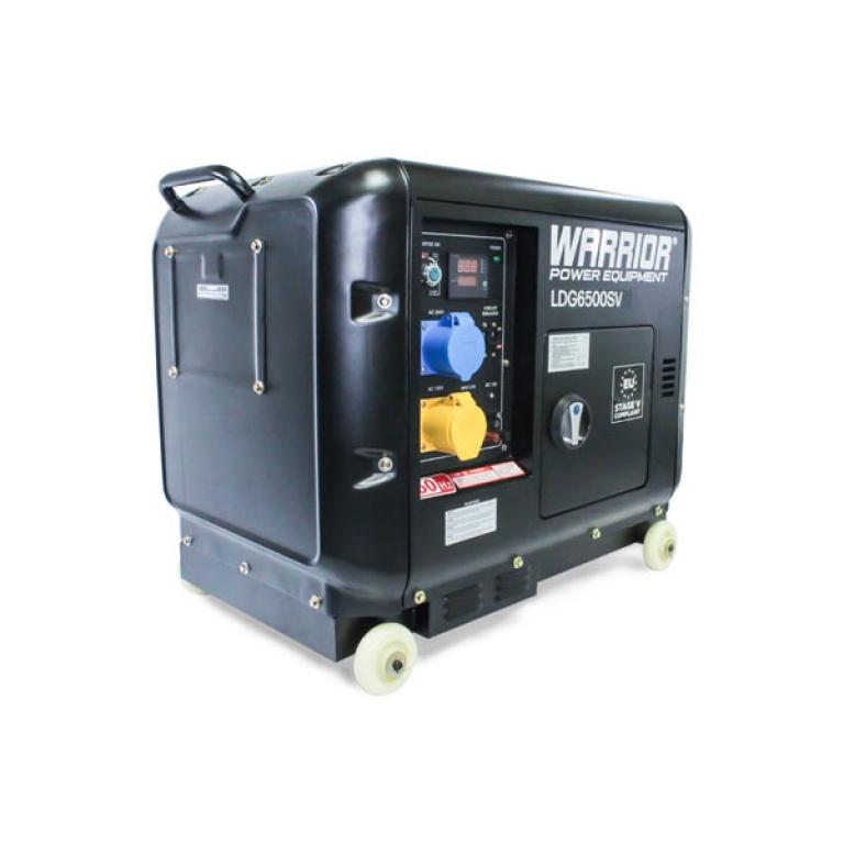 Oxtrad Tools Ltd Warrior 6.25 kVa Diesel Generator LDG6500SV