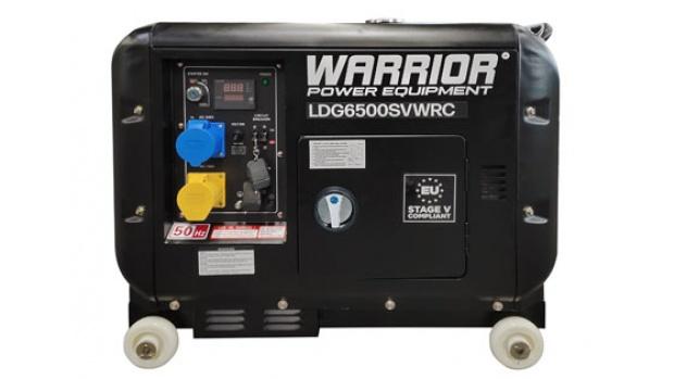 Oxtrad Tools Ltd Warrior 6.25kVa Diesel Standby Remote Start Generator LDG6500SVWRC