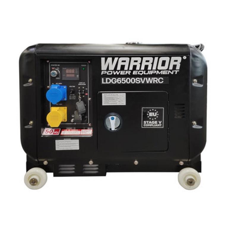Warrior 6.25kVa Diesel Standby Remote Start Generator LDG6500SVWRC
