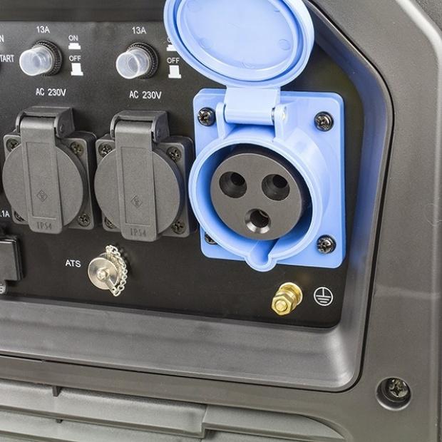Hyundai HY6500SEi 230V 6.6kW Inverter Generator 5