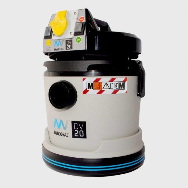 Oxtrad Tools Ltd Maxvac Dura M Class HEPA Vacuum Wet & Dry 20ltr with PTO DV20MB