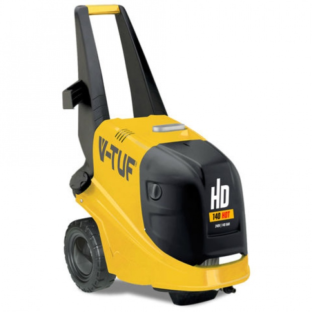 Oxtrad Tools Ltd V-Tuf HD140H Hot Water Pressure Washer 2000psi 140bar