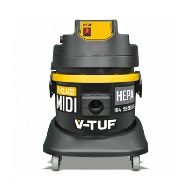 Oxtrad Tools Ltd V-Tuf Midi H-Class Mini 21Ltr Dust Extractor 110v MIDIH110