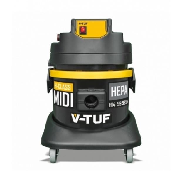 Oxtrad Tools Ltd V-Tuf Midi H-Class Mini 21Ltr Dust Extractor 240v MIDIH240