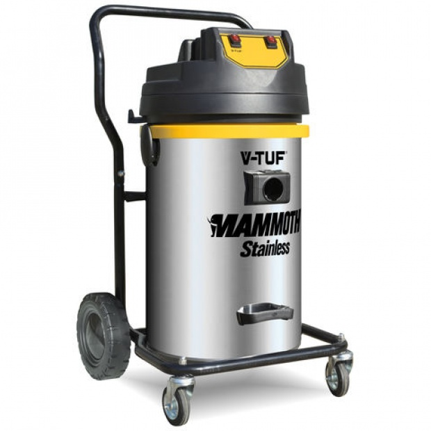 Oxtrad Tools Ltd V-Tuf Mammoth Stainless Industrial 80ltr Wet & Dry Vacuum 240v 1