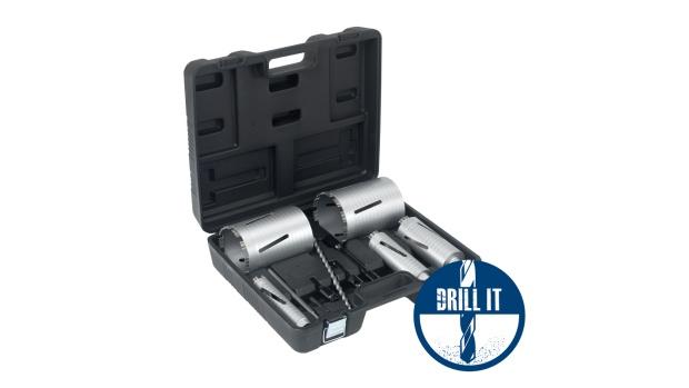Duro Dry Diamond Ultra Shark Core Drill Kit DUSDC-Kit 5 Piece