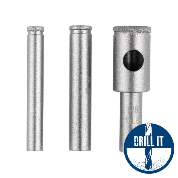 Oxtrad Tools Duro Plus Diamond Tile Drill 6mm-16mm DP-CTD
