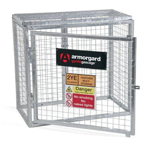 Oxtrad Tools Ltd Armorgard Gas Bottle Storage Cage GGC