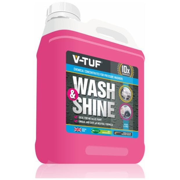 V-TUF Wash & Shine Traffic Film Remover 5Ltr VTC120-5L