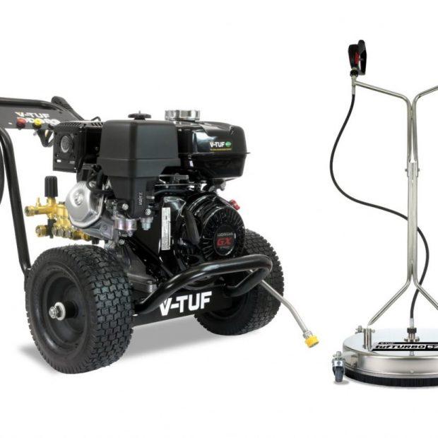 V-Tuf Honda DD080-Kit1 Pressure Washer 2900psi & 21″ Surface Cleaner