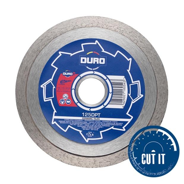 Duro Plus Ceramic Tile Cutting Blade DPT