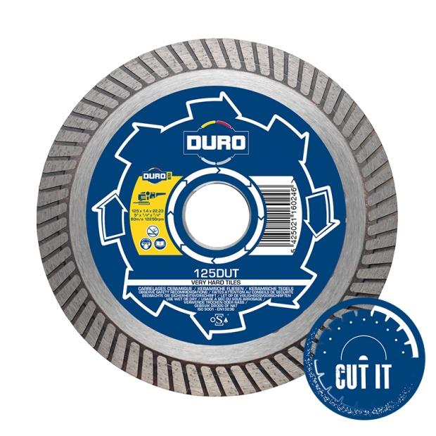 Duro Ultra Porcelain Tile Cutting Blade DUT